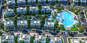 Kıbrısta Gazimağusa Kalecik'te 123 m2 2+1 Daire