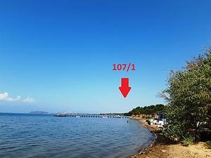 Balıkesir Gömeç Keremköy'de Denize Sıfır 230 Dönüm