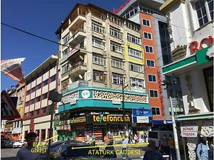 Sivas Çarşı Mahallesi Akhan İş Merkezinde 22 m2 Ofis