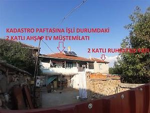 Afyonkarahisar Sandıklı Yavaşlar Köyünde 2 Katlı Ahşap Ev