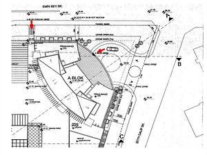 Koşuyolu Elysium Elit Projesinde 53 m Cepheli 1036 m2 Dükkan