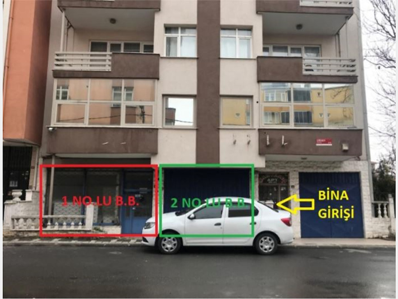 İstanbul Ümraniye'de 67 m2 Dükkan