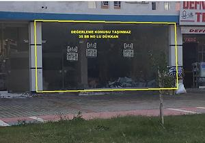 Mersin Mezitli Özel Şahin Tower'da 127 m2 Dükkan