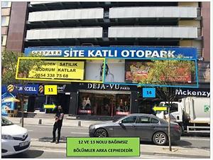 Şişli Halaskargazi Osmanbey Sitesi'nde 4 Adet Dükkan