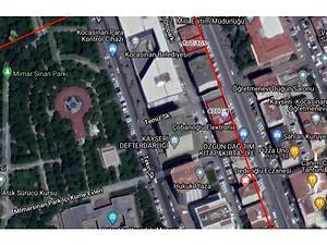 Kayseri Kocasinan Kuşoğlu İş Merkezi'nde 72 m2 Ofis