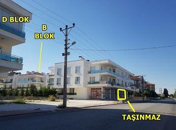 Konya Karatay Hacıveyiszade Mahalles'inde İskanlı 45 m2 Dükkan