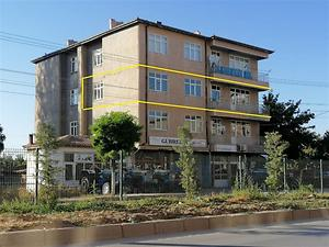Yozgat Yerköy Bekir Bozdağ Bulvarı 'nda İskanlı 3+1 Daire