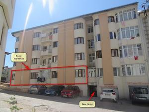 Sivas Merkez Akdeğirmen Mahallesi'nde İskanlı 150 m2 Daire
