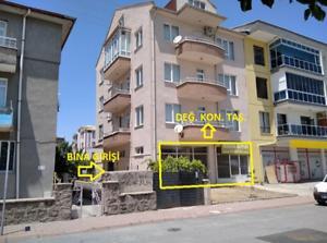 Kayseri Kocasinan Yavuzlar Mahallesi'nde 192 m2 İskanlı Depolu Dükkan