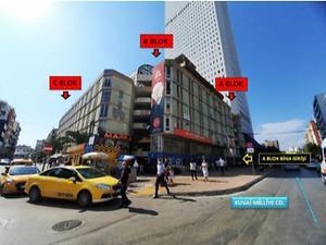 Mersin Akdeniz Metropol İş Merkezi'nde 25m2 Dükkan