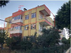 Hatay Arsuz Karahüseyinli Mahallesi'nde İskanlı 2+1 Daire