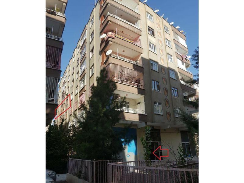 Diyarbakır Bağlar Şeyh Şamil Mahallesi'nde 135m2 3+1 Daire