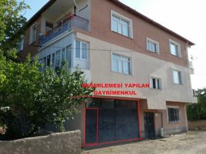Yozgat Yerköy Hüyük Mahallesi'nde 84 m2 İskanlı Dükkan Deposu