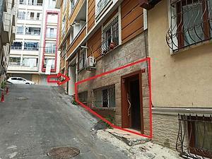 İstanbul Eyüpsultan Düğmeciler Mahallesi'nde İskanlı 200 m2 Dükkan