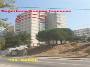 Balıkesir Karesi Adnan Menderes Mahallesi'nde 3+1 105 m2 İskanlı Daire