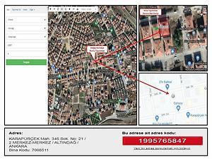 Ankara Altındağ Karapürçek Mahallesi'nde 2+1 İskanlı Daire