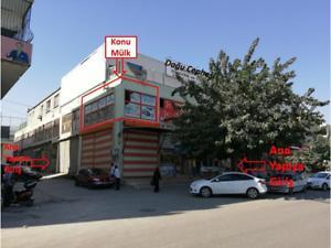 Şanlıurfa Eyyübiye Muradiye Mahallesi'nde 37 m2 İskanlı Dükkan