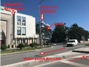 Osmaniye Merkez Deveci İş Merkezi'nde Arakat 47 m2 Ofis
