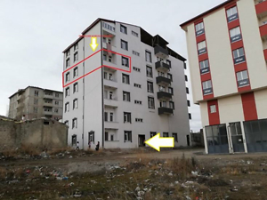Erzurum Horasan Adnan Menderes Mahallesi'nde Natamam 3+1 Daire