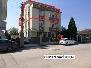 Kocaeli Derince Fatih Sultan Mehmet Mahallesi'nde 6+1 Çatı Piyesli Daire