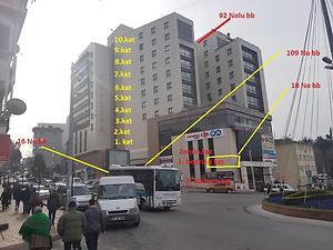 Zonguldak Ereğli Ay City AVM'de 45 m2 Dükkan