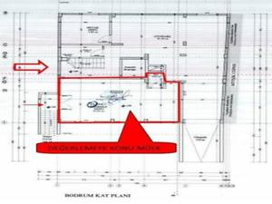 Kırklareli Merkez İstasyon Mahallesi'nde İskanlı 52 m2 Depo