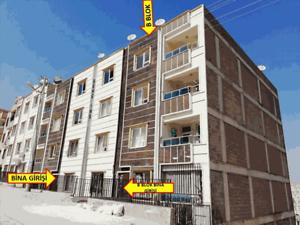 Şanlıurfa Eyyübiye Direkli Mahallesi'nde Açık Teraslı 63 m2 Daire (831)