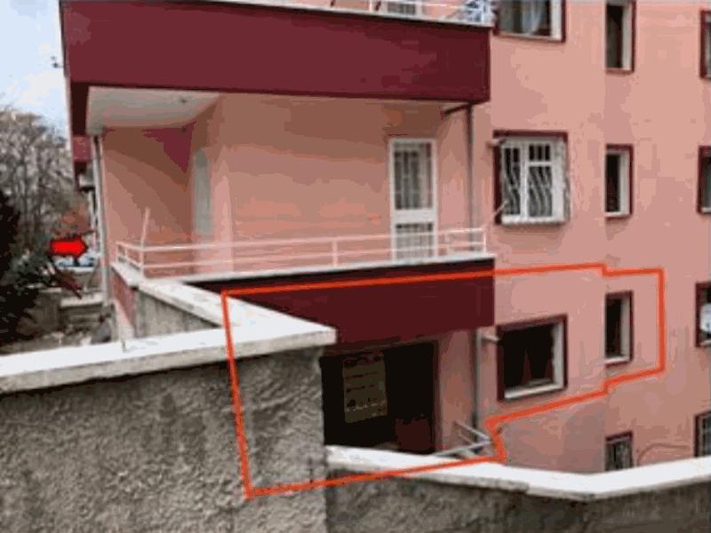 Ankara Mamak Kazım Orbay Mahallesi'nde 2+1 91 m2 Daire