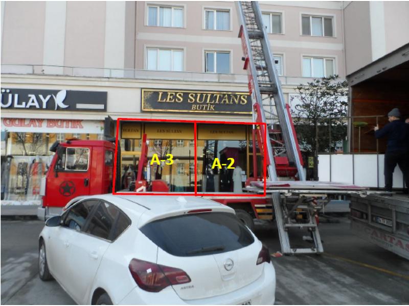 İstanbul Beylikdüzü Kavaklı Konakları'nda 66 m2 Dükkan
