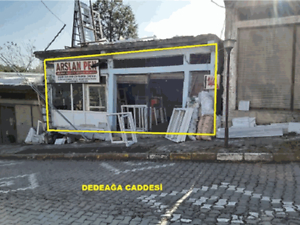 Ordu Ünye Dedeağa Caddesine Cepheli 54 m2 Dükkan