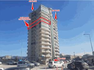 Hatay Defne Çekmece Mahallesi'nde 3+1 152 m2 Daire