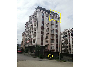 Trabzon Yomra Sancak Mahallesi Sancak Sitesi'nde 194 m2 Dubleks Daire