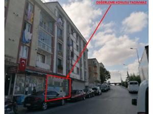 İstanbul Esenyurt Ispartakule Caddesi'ne Cepheli 102 m2 Depolu Dükkan