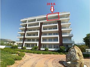 Antalya Alanya Fortuna Resort Sitesi'nde 116 m2 Natamam Dubleks Daire