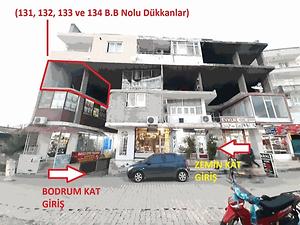 Mersin Tarsus Şehit Mustafa Mahallesi'nde 44 m2 Natamam Hisseli Dükkan