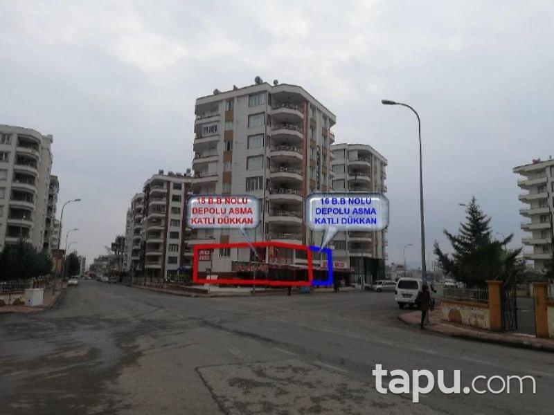 Şanlıurfa Haliliye Karşıyaka Mahallesinde 230 m2 Depolu Asma Katlı Dükkan