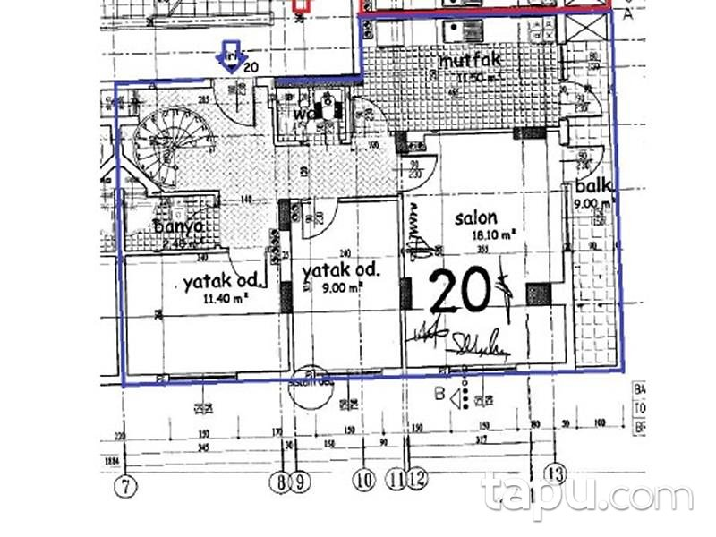 Hatay Defne Esenlik Mahallesinde 116 m2 Dubleks Daire