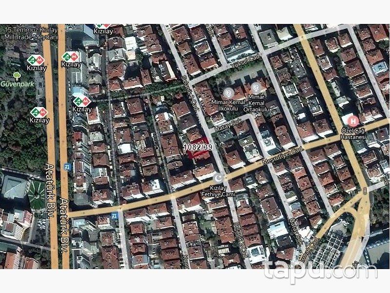 Çankaya Meşrutiyette Kiracılı 117 m2 Ofis
