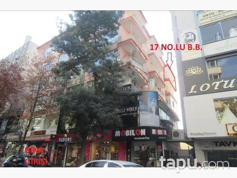 Ankara Çankaya Remzi Oğuz Mahallesinde Kiracılı 130m2 Ofis