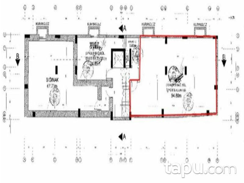Hatay Dörtyol Kışlalar Mahallesi'nde 248 m2 İskanlı Depolu Dükkan