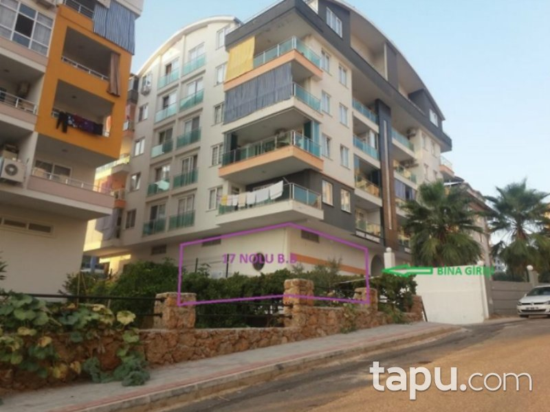 Antalya Alanya Tosmur Mahallesi'nde 92 m2 Dükkan