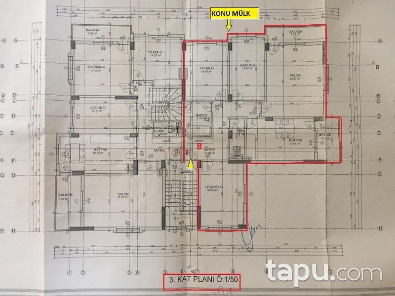 Bingöl Genç Cumhuriyet Mahallesi'nde 132 m2 3+1 Daire
