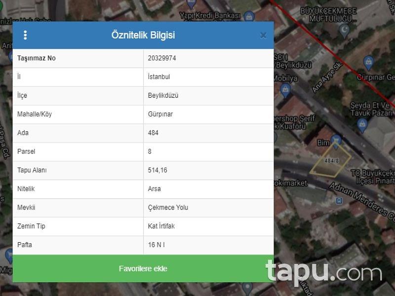 İstanbul Beylikdüzü Gürpınar Mahallesi'nde 6+1 Çatı Katlı Daire