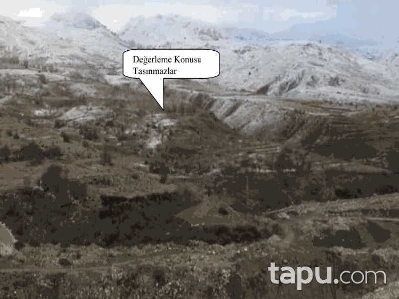 Burdur Tefenni Yeşilköy Mahallesi'nde 3300 m2 Tarla (1206)