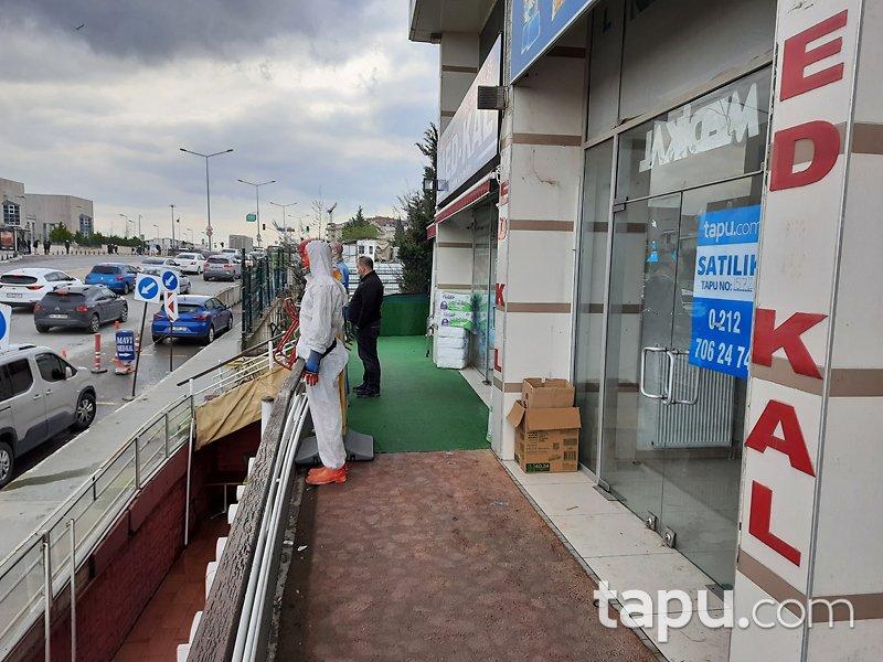 İstanbul Pendik Çelik Plaza'da 91 m2 Cadde Cepheli Asma Katlı Dükkan