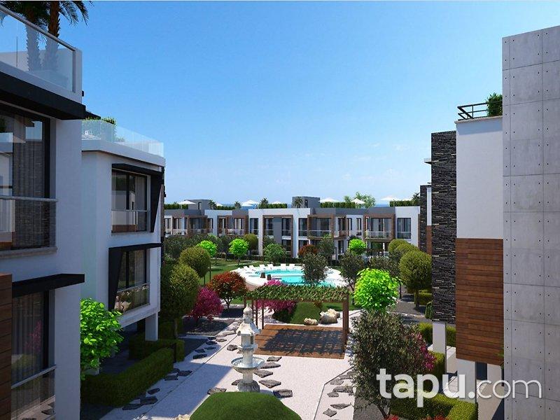 Girne Zeytin Homes'ta Townhouse 3+1 Triplex Daireler