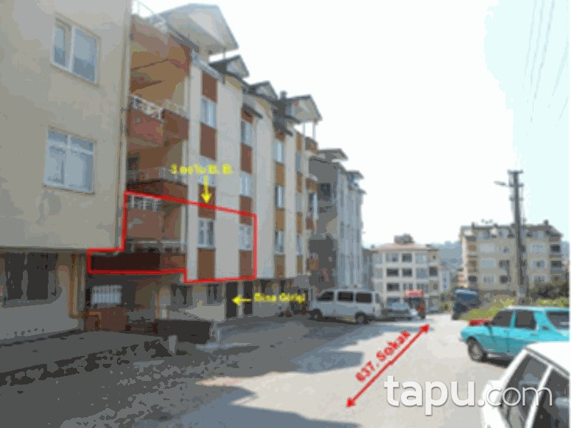 Ordu Altınordu Şahincili Mahallesi'nde 3+1 110 m2 Daire