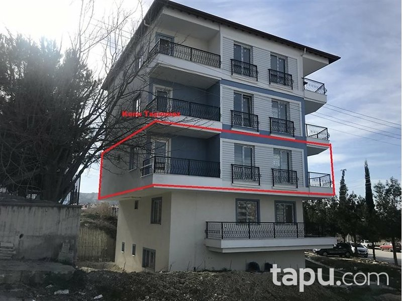 Burdur Merkez Emek Mahallesi'nde 3+1 150 m2 Daire