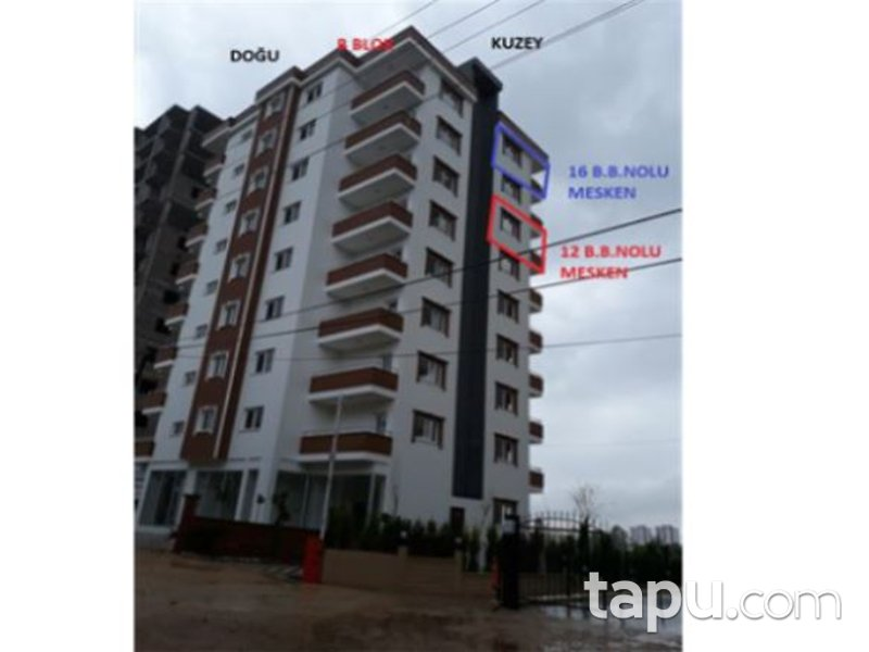 Adana Kozan Cumhuriyet Mahallesi'nde 3+1 123m2 Daire