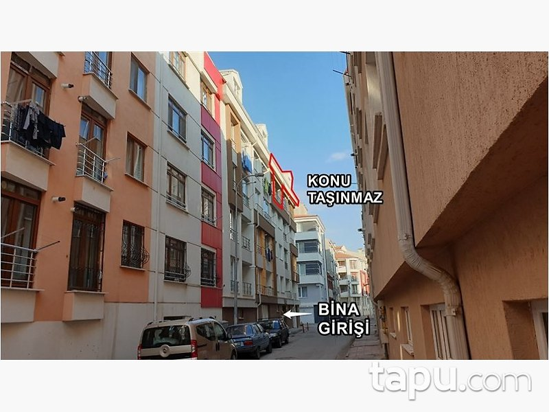 Eskişehir Tepebaşı Kumlubel Mahallesi'nde 196 m2 Dubleks Daire